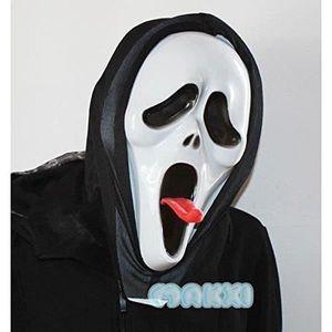 MASQUE - DÉCOR VISAGE Halloween Masque d'horreur Longue Langue Diable Pe