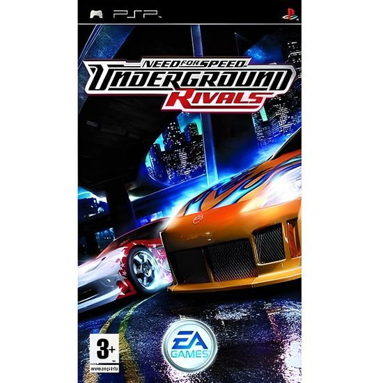 By Photo Congress || Need For Speed Underground 2 Para Psp