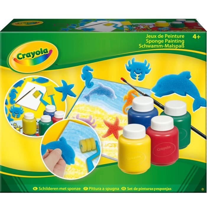 crayola jeux de peinture achat vente kit peinture cdiscount. Black Bedroom Furniture Sets. Home Design Ideas