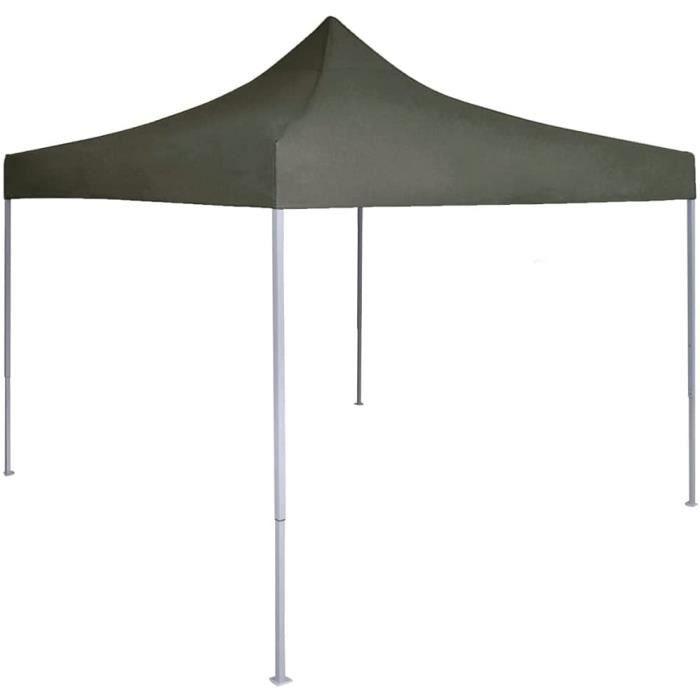 vidaXL Tente de Rception Pliable Professionnelle Tonnelle dExtrieur Chapiteau de Jardin Belvdre Voyage de Camping Barbecue Ma[11412]