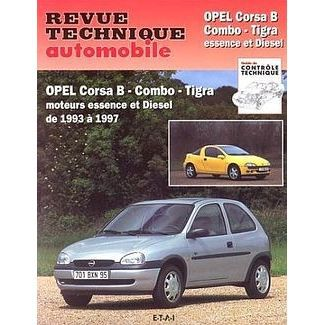 revue technique automobile opel corsa b combo t achat. Black Bedroom Furniture Sets. Home Design Ideas