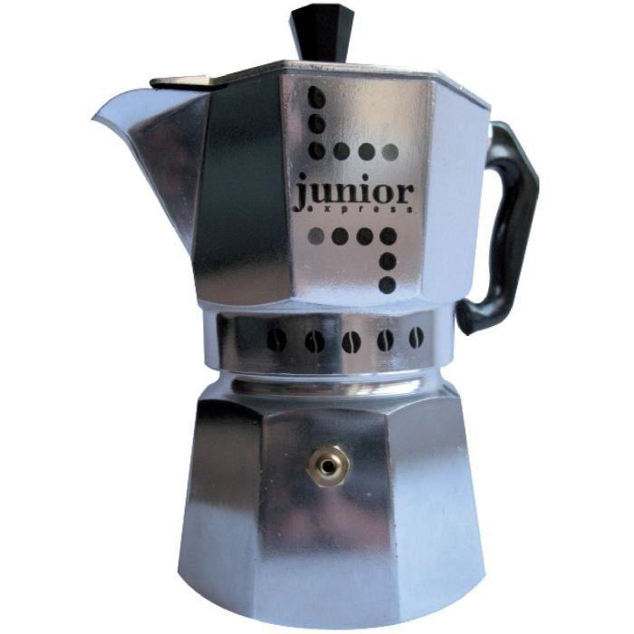 Cafetière à pression alu Junior Bialetti 1 tasse