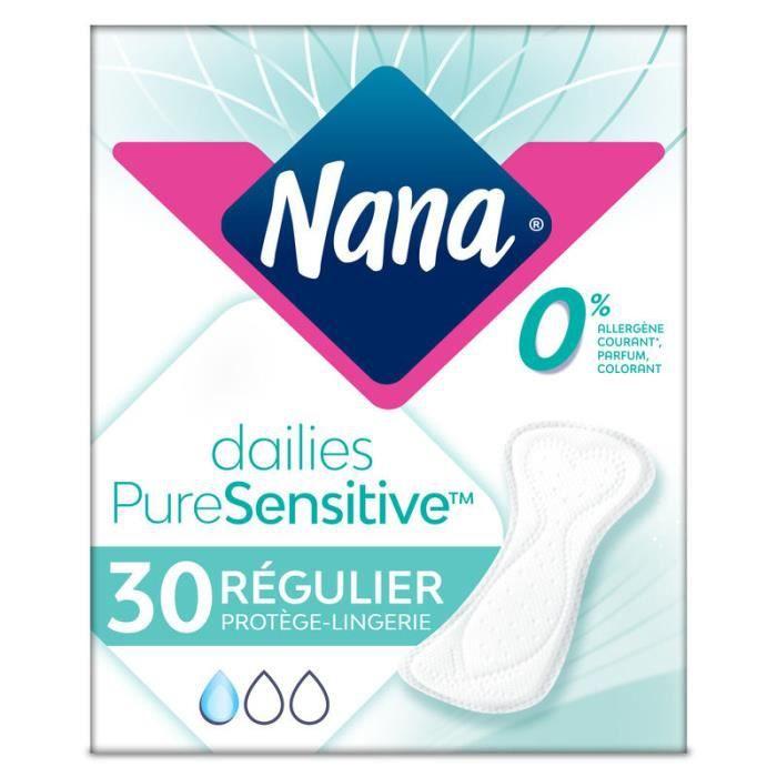 NANA Protège-Lingerie quotidien PureSensitive - 30 pièces