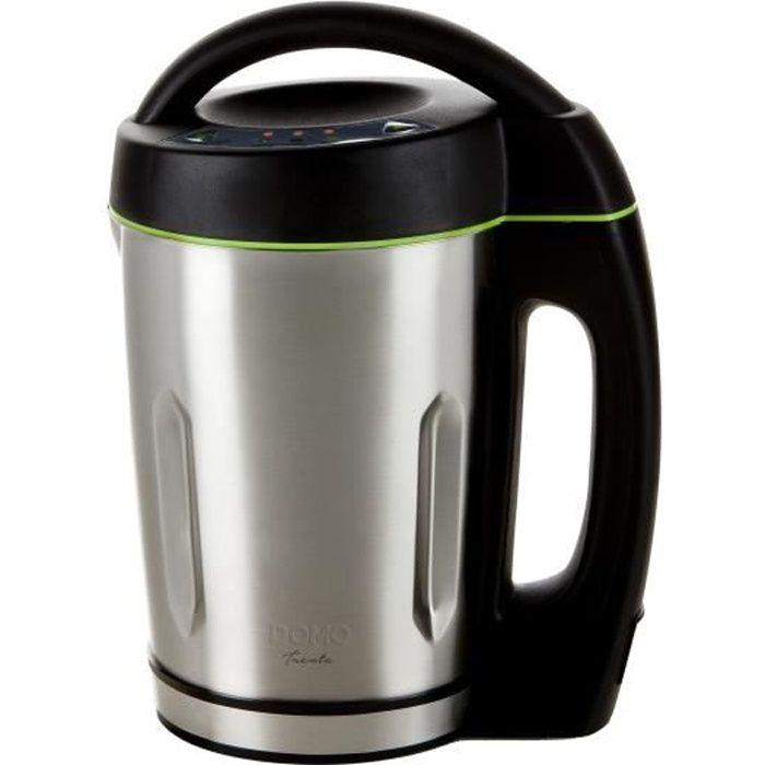 Mixeur à soupe DOMO - noir - 1,6L DO498BL
