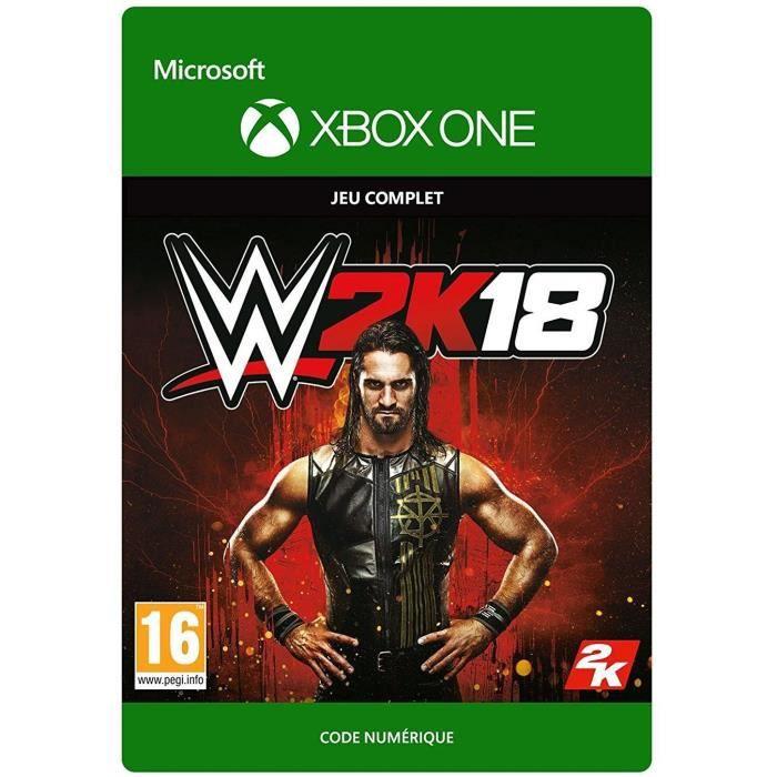 WWE 2K18 Jeu Xbox One à télécharger