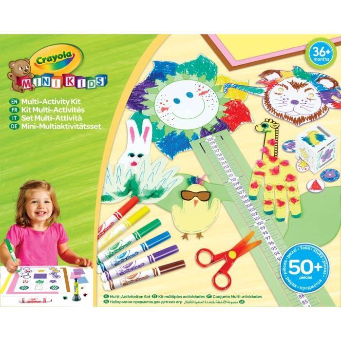 Crayola Premier Kit multi activités