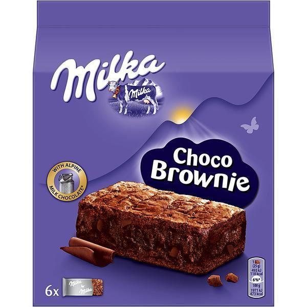 6x Milka Choco Brownie 150g