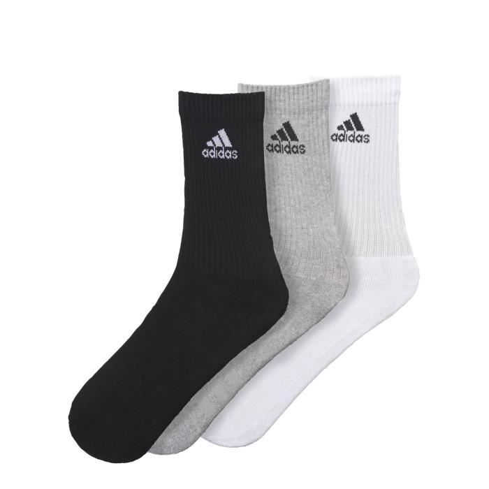 Adidas Performance Chaussettes Adidas 3 Bandes Performance gris, accessoires homme