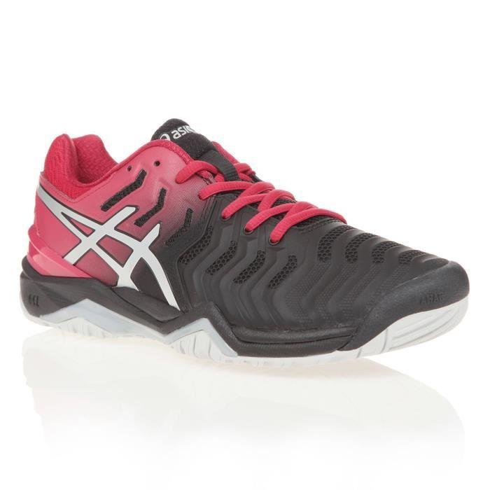 ASICS Chaussures de tennis Gel-Resolution 7 - Homme - Noir