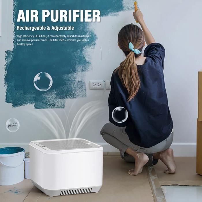 NEUFU Purificateur d'Air Maison Filtre HEPA Air Purifier Silencieux