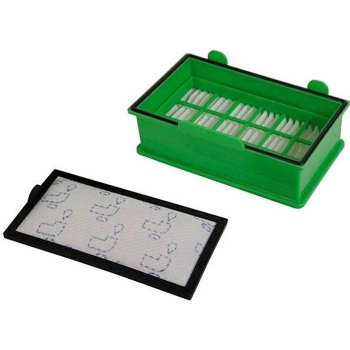 filtre hepa + filtre aspirateur ergo force cyclonic RO67 rowenta ZR902601