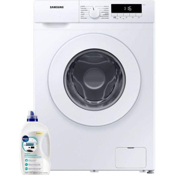 SAMSUNG Lave-Linge Frontal 7kg 1400trs/min Tambour 49L Machine à laver hublot 50 Blanc