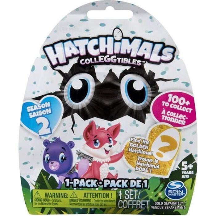 PACK DE 1 Hatchimals Saison 2 (modèle aléatoire) - Mini Figurines à collectionner