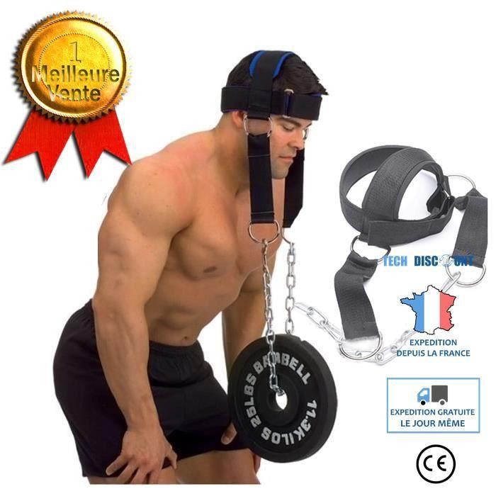 TD® Entraîneur avancé de la tête et du cou Entraînement de la force portante de l'épaule Casquette de la tête et du cou