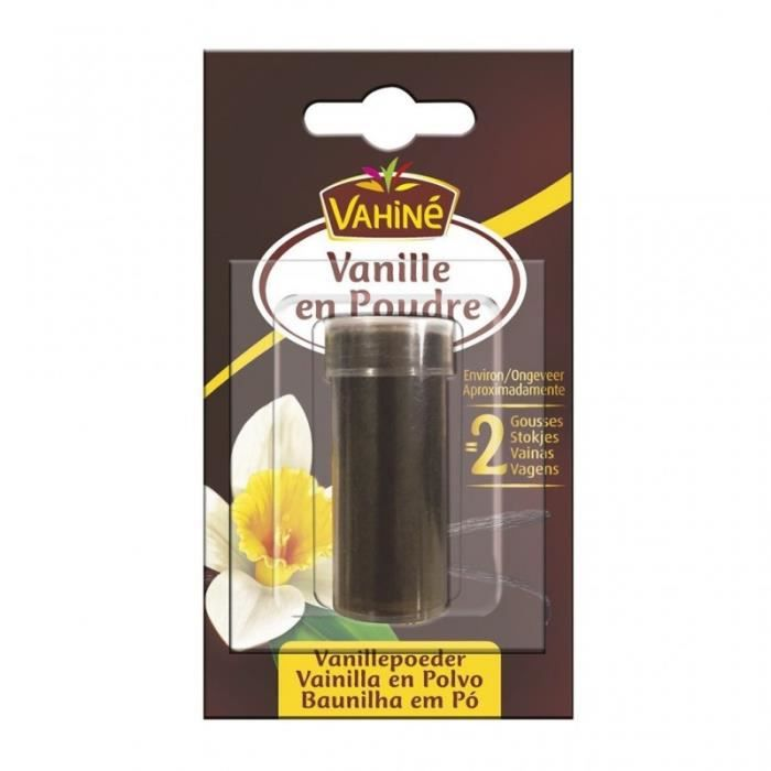 Vahiné Vanille en Poudre 4g (lot de 3)