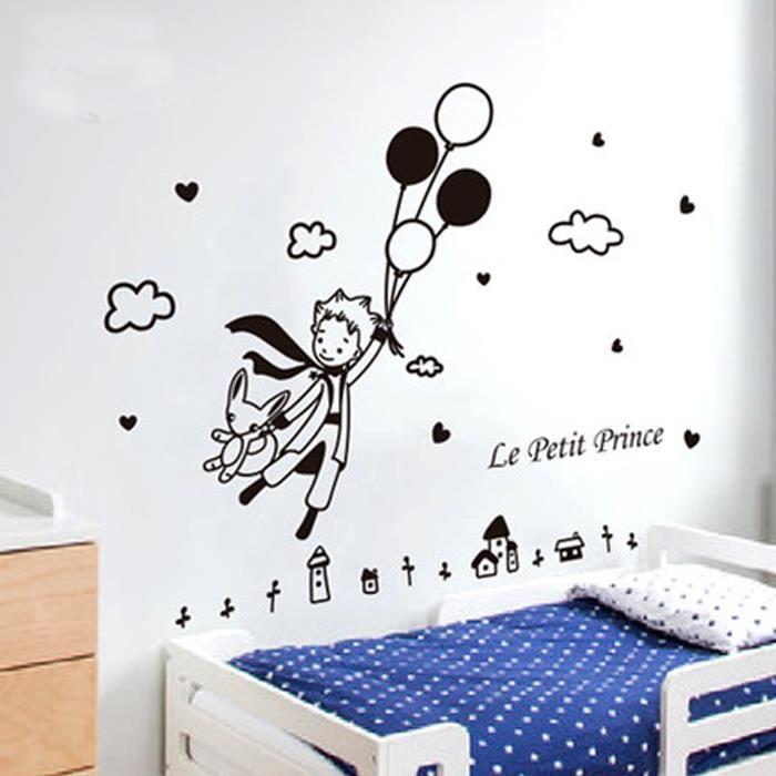 STICKERS Stickers Dessin anime Le Petit Prince noir Enfants