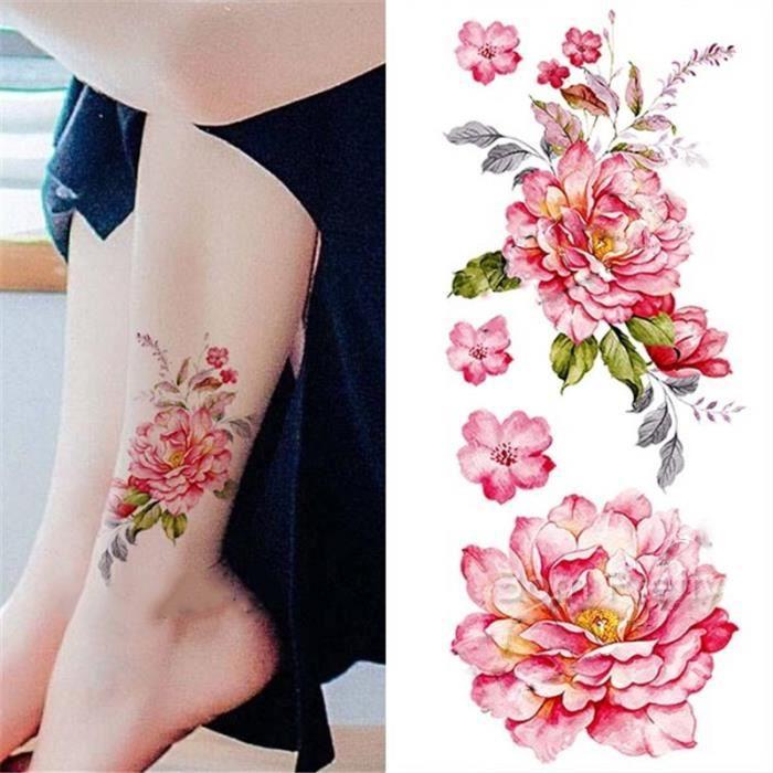 1 Pc Tatouages Ephémères Tattoos Temporaires Imperméables