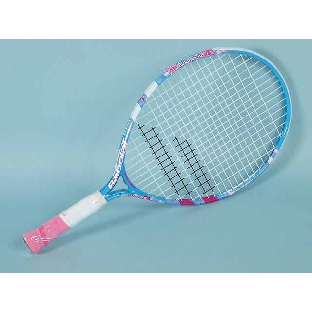 raquette de tennis b fly 21 bleu rose achat vente. Black Bedroom Furniture Sets. Home Design Ideas