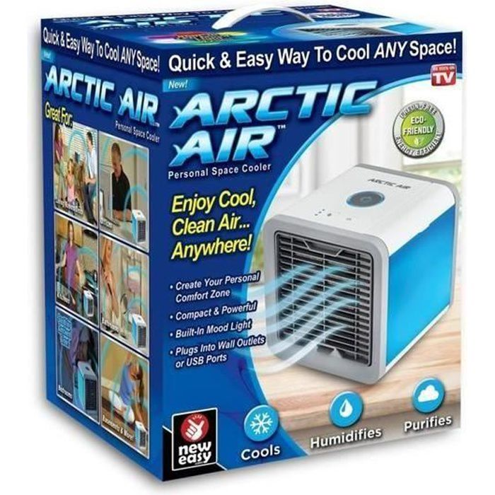 CLIMATISEUR MOBILE Climatiseur Portable Mobile Air Conditioné  USB Si