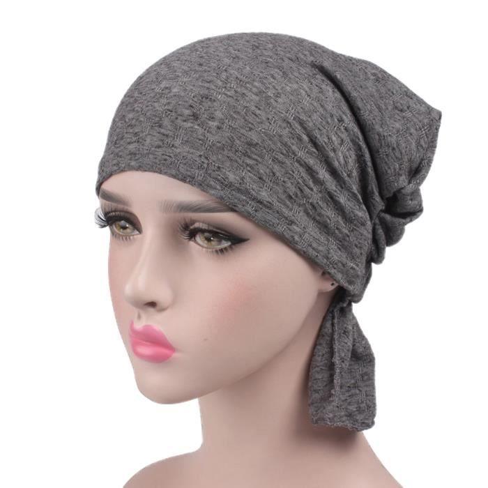 bonnet femme coton