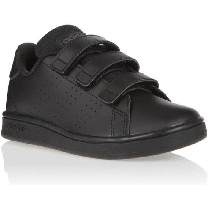 ADIDAS Baskets Enfant Advantage C Noir