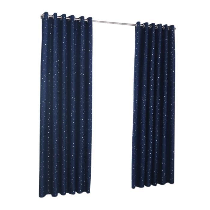 Rideaux Jacquard Valances Rideau occultant pour rideaux /à rideaux opaques Solid Window Fen/êtres Blackout Rideaux Panneau de rideau pour chambre /à coucher