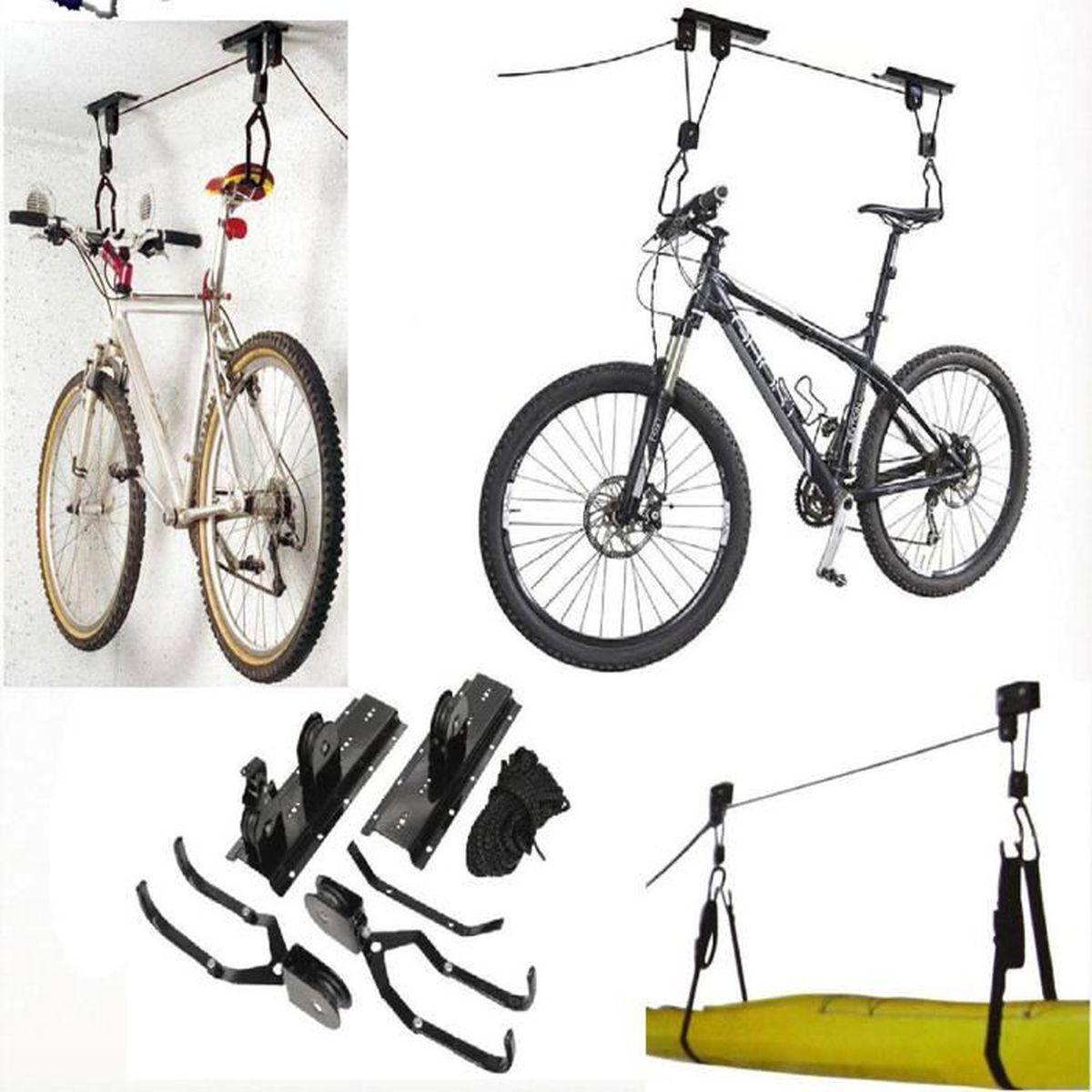 Support Velo Au Plafond rangement porte-vélo ascenseur rangement vélo au plafond
