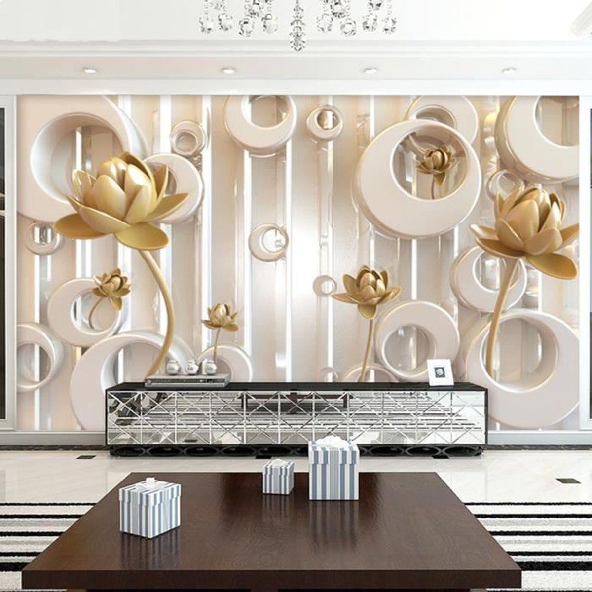 Papier Peint Chambre Moderne 3d papier peint chambre mural moderne luxe gravé rose