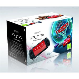 CONSOLE PSP PACK PSP STREET (E1004) + CARS 2