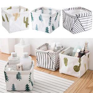 BOITE DE RANGEMENT 3pcs Boîte de rangement Closet Toy Box Container O