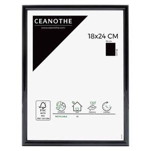 CADRE PHOTO Cadre photo Expo noir 18x24 cm - Ceanothe, marque