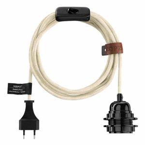 LUSTRE ET SUSPENSION Hoopzi - Bala - Suspension Luminaire - Fil Electri