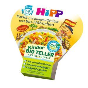 PLAT À PAËLLA Assiette enfant HiPP à partir de 1 an, paella aux