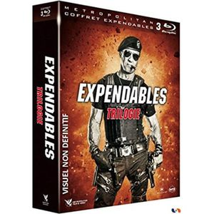 BLU-RAY FILM Coffret de film Expendables La Trilogie - En Blura