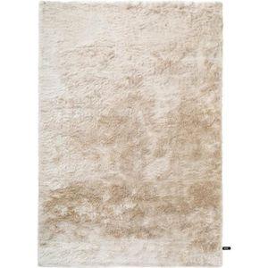 COUVERTURE - PLAID Tapis shaggy à poils longs Whisper Beige 120x170 c