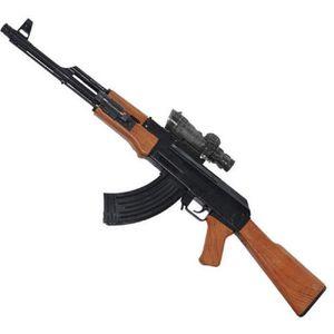 PISTOLET À EAU IMMENSE PISTOLET A EAU 72 CM AK47 FUSIL AVEC RESER