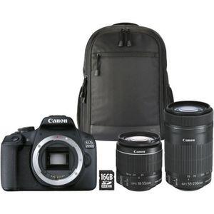 APPAREIL PHOTO BRIDGE Canon Appareil Photo Reflex EOS 2000D +18-55mm + 5