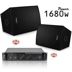 PACK SONO DANSE PACK SONO 600W + AMPLI 480W + ENCEINTES 2X30