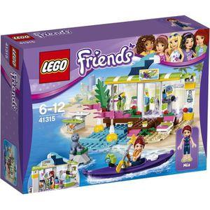 ASSEMBLAGE CONSTRUCTION LEGO® Friends 41315 Le Magasin de Plage