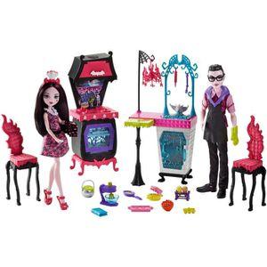 POUPÉE Monster High FCV75Jouets Famille Vampire avec Cui