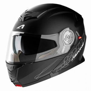 CASQUE MOTO SCOOTER CASQUE MODULABLE ASTONE RT1200 NOIR MAT