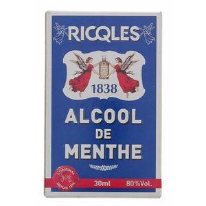 COMPLÉMENT MINCEUR RICQLES ALCOOL DE MENTHE 30ML