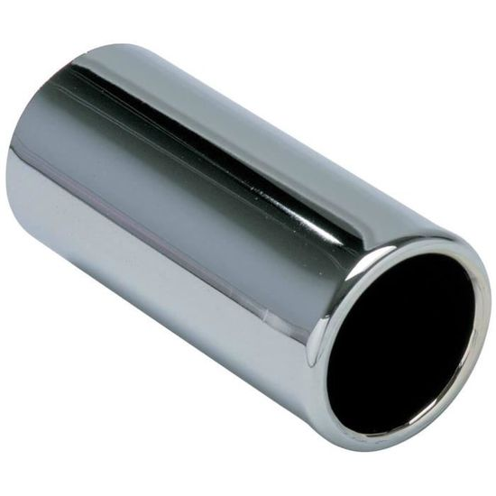 48mm Tube echappement Inox Droit Long 500mm