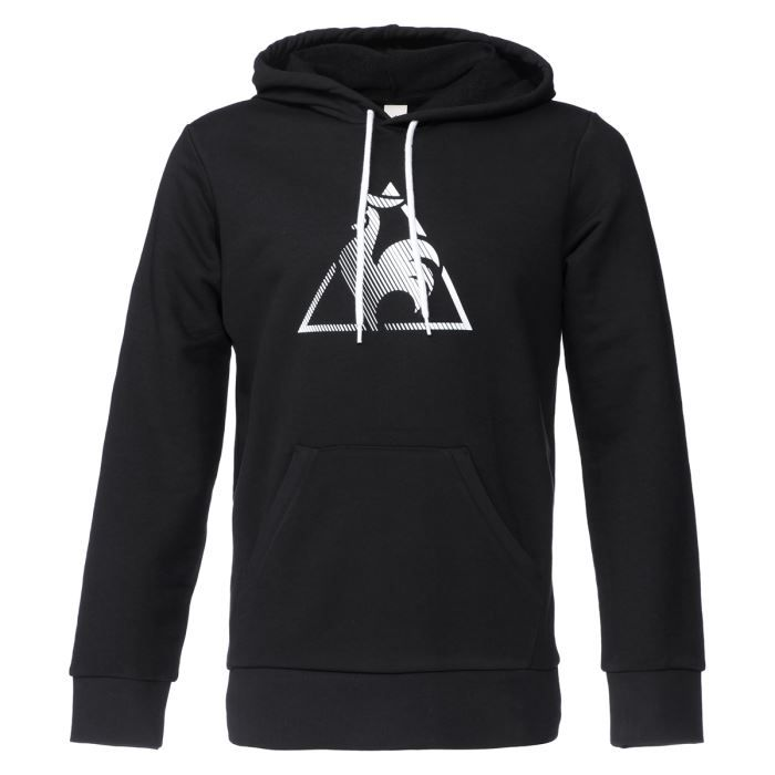 le coq sportif sweatshirt chronic homme noir achat vente sweat shirt de sport cdiscount. Black Bedroom Furniture Sets. Home Design Ideas