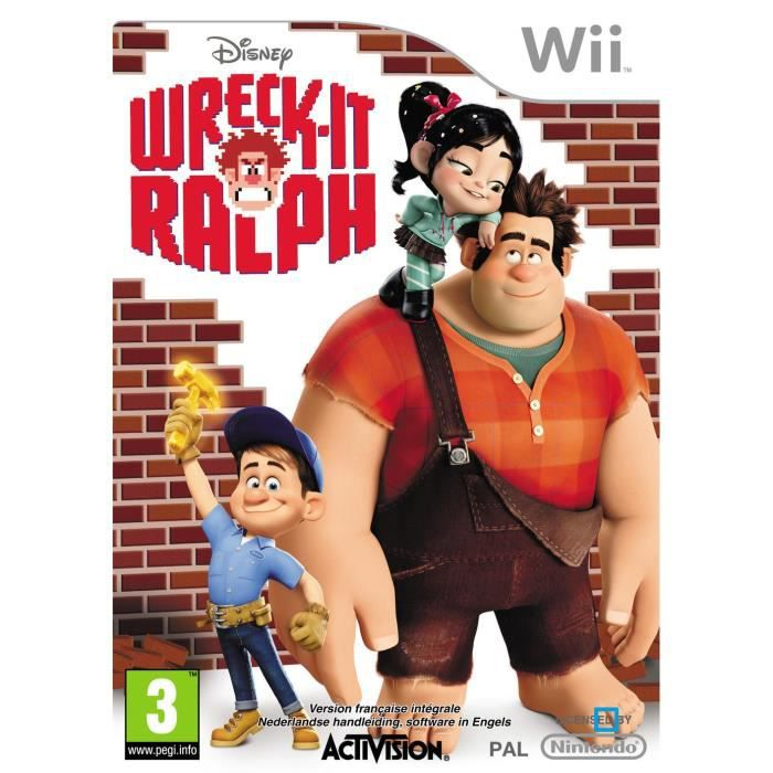 JEUX WII WRECK IT RALPH / Jeu console Wii