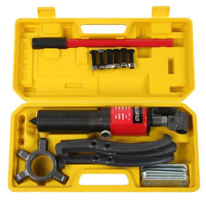 10 tonnes hydraulique Gear séparateurs de Arrache moyeu Extracteur Roulement Garage Outil Kit - YES -SIE