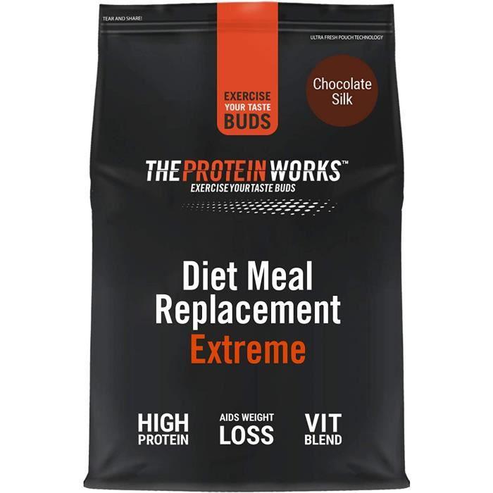 Diet Meal Replacement Extreme - Repas complet sur le plan nutritionnelvitamines renforçant l'immunitésainabordableComplément 160