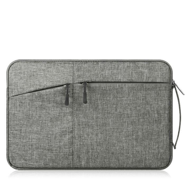 Sacoches & Housses Ordinateur,Pour Huawei Matebook D 14 Quakeproof sac à manches pour Macbook Air Pro - Type Gris foncé-15.6-pouces