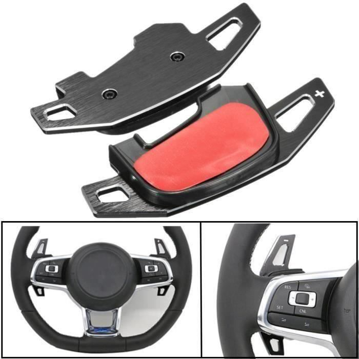 BK NEUFU 2Pcs Palettes Extension Vitesse Volant Pour VW Golf MK7*SQ