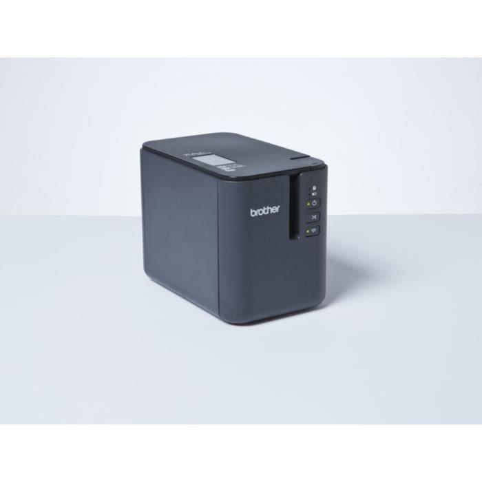 Brother Etiqueteuse professionnelle PT-P900W - Transfert thermique - Monochrome